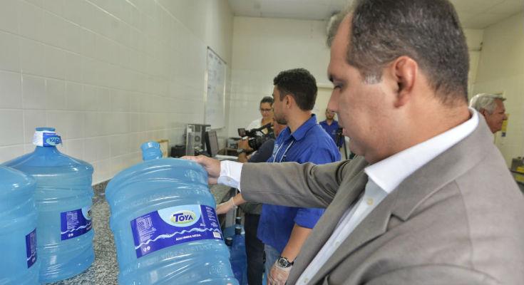 Presidente do Ipem-AM acompanha a fiscalização