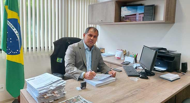 Diretor-presidente do Ipem-AM, engenheiro Márcio André Brito