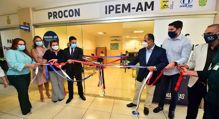 Parceria entre Ipem-AM e Procon-AM, Espaço do Consumidor é inaugurado na zona centro-sul de Manaus