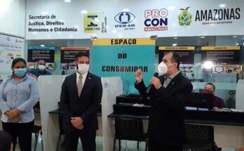 Novo 'Espaço do Consumidor' é entregue para população no PAC Leste, em Manaus