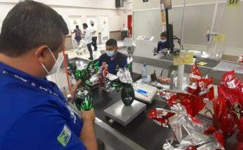 Fiscalização do Ipem-AM notifica empresa por venda irregular de chocolates