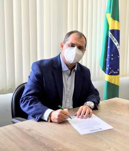 Diretor-presidente do Ipem-AM, Márcio André Brito