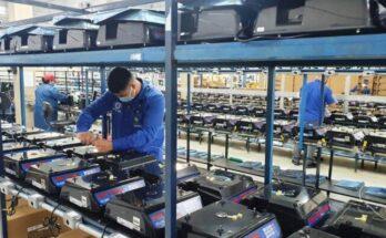 Ipem-AM verifica e atesta balanças em fábrica de empresa em Manaus