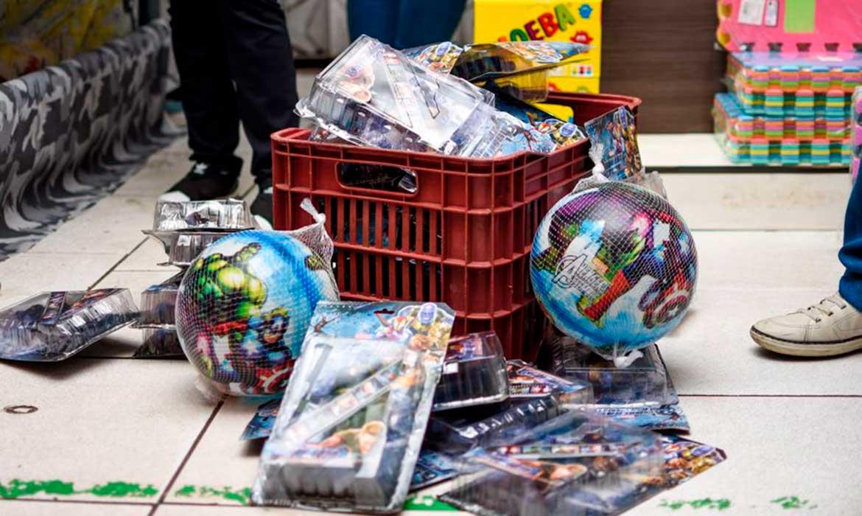 Mais de 1.200 produtos falsificados são apreendidos durante operação Fake Toy